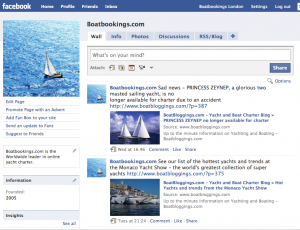 The Boatbookings.com Fan Page