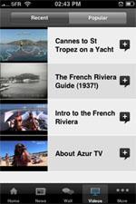 iRiviera iPhone app