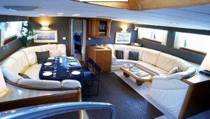 ASIA luxury sailing yacht salon