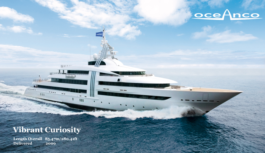 Oceanco Yacht's Project Y708: Slated for World's Top 100 in