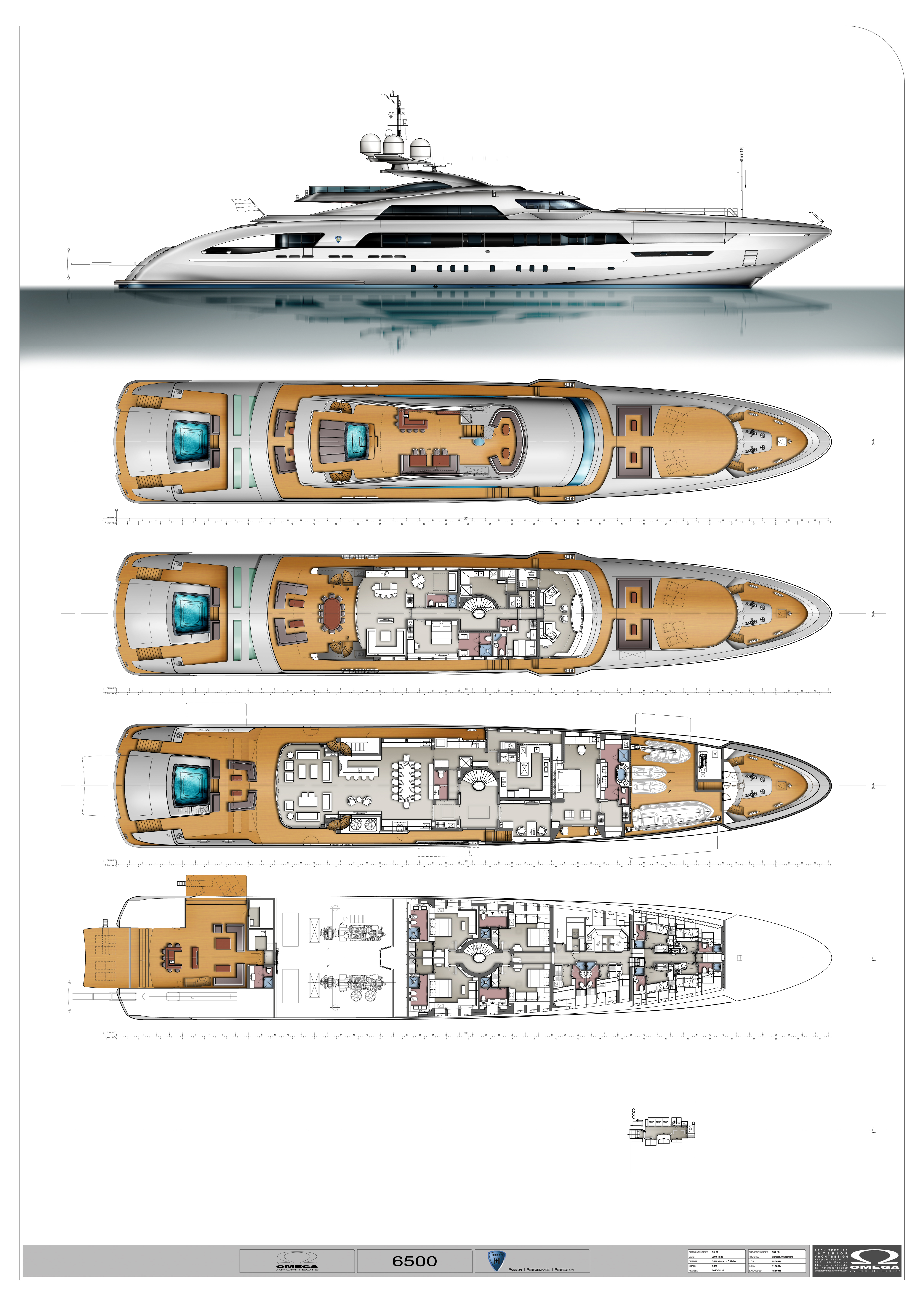 This extraordinary yacht is likely to set a new bar for style, design ...