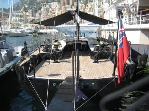 Wally Yacht BAGHEERA at the Monaco Yacht Show