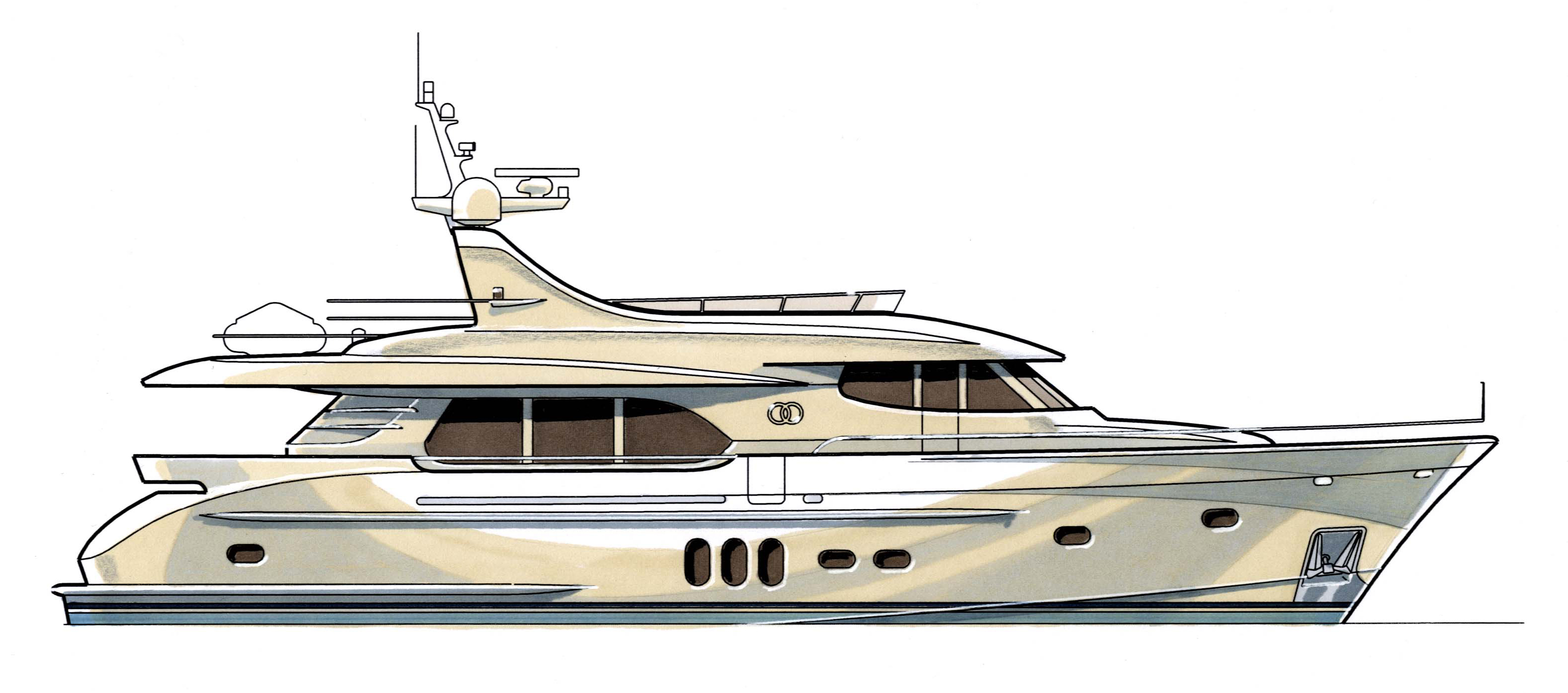 Moonen 82 Alu New High Speed Long Range Luxury Yacht
