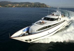 Luxury Yacht Avella