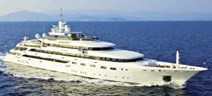 Luxury Mitsubishi Mega Yacht