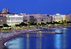 The Croisette at Cannes