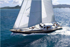 THe Luxury sailboat Ree is a perfect example of a boat rental in sicily.