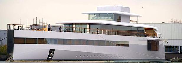 Steve Jobs Custom Luxury Yacht Charter Feadship Unveiled