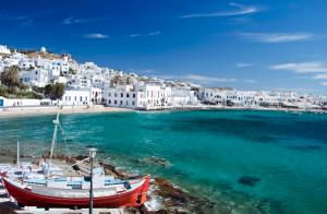 Athens - Mykonos - Paros - Santorini