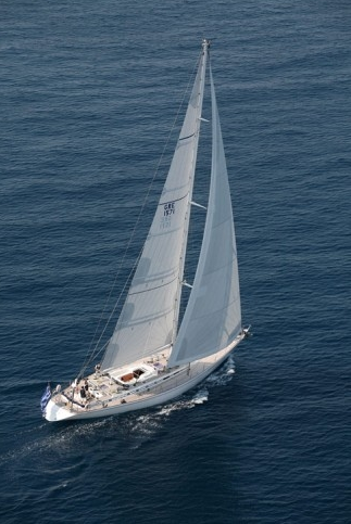 CALLISTO - the luxurious Nautors Swan of the Aegean