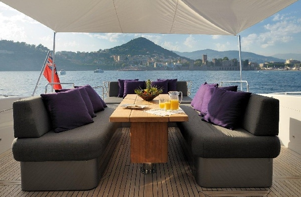 Is there a better sun deck on a motor yacht of this size?
