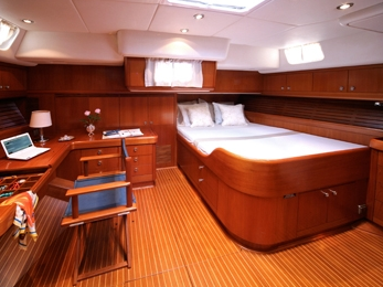 Luxurious staterooms