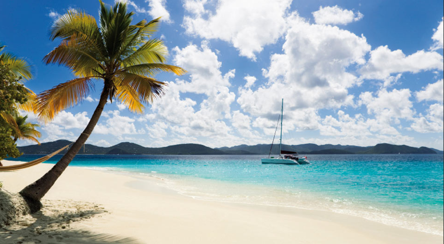 Naturaly beauty of the Caribbean in the BVI