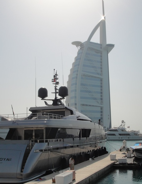 San Lorenzo at the Dubai Yacht Show