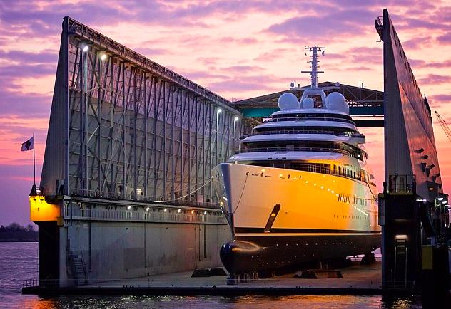 AZZAM luxury motor yacht