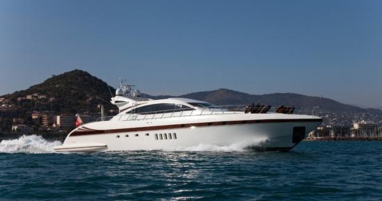BEAR MARKET - a stunning Mangusta 92 crewed motor yacht