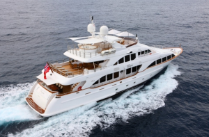 Luxury yacht Giorgia