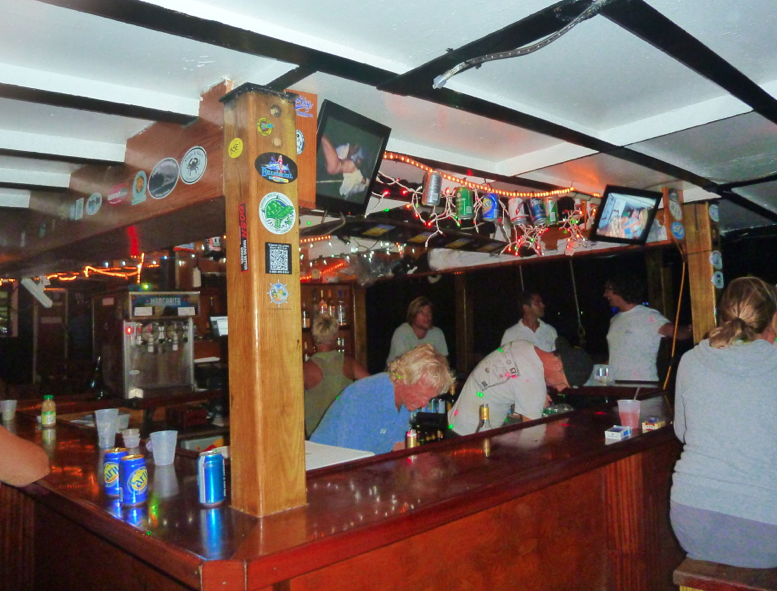 Bvi crewed catamaran 7 day itinerary day 1 road town for T s dining virden