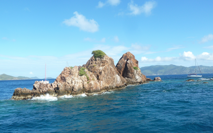 Snorkeling at the Indians, BVI