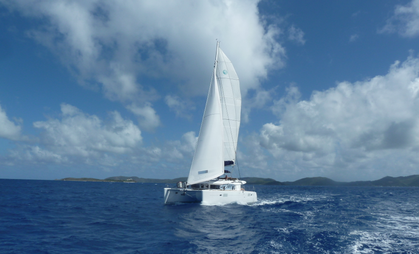 Full Sail up to Anegada