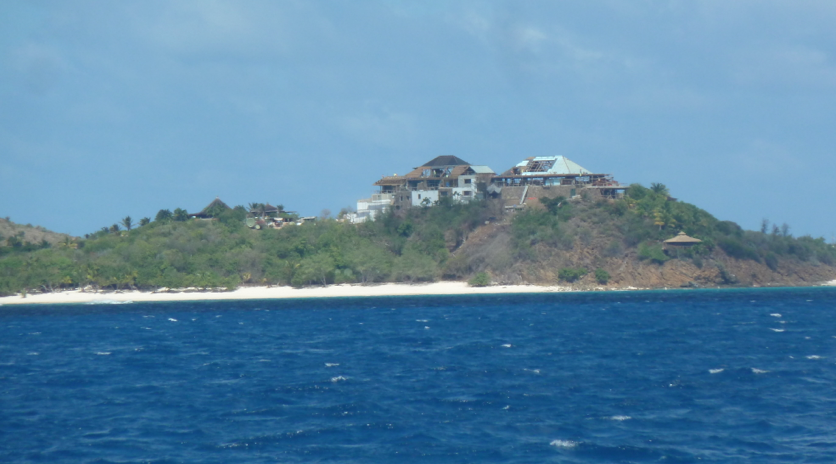 Rebuilding on Necker Island