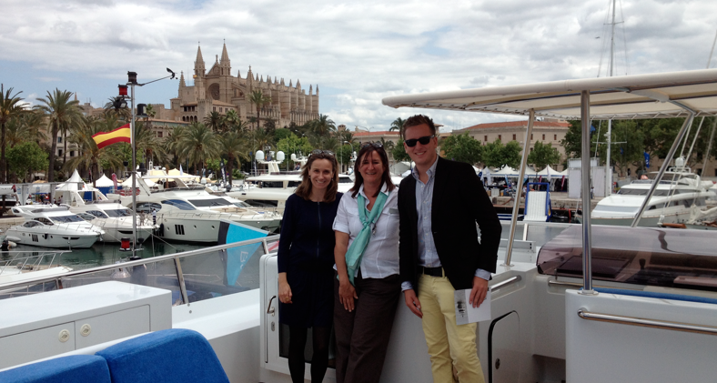 Boatbookings.com at the 2013 Palma de Mallorca Yacht Show