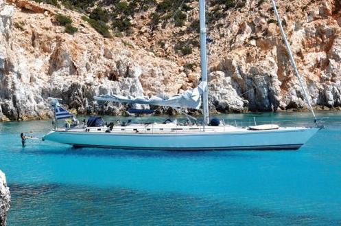 Luxury sailing yacht, Callisto.