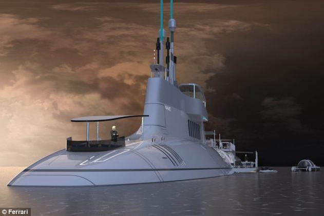 Submarine - yacht