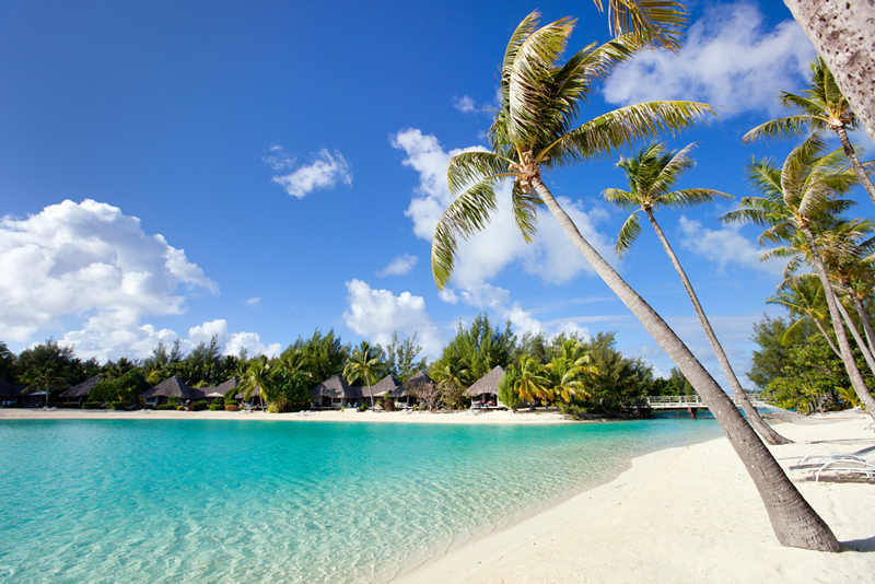 Beautiful beaches of Tahiti!