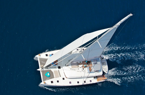 Luxury catamaran NOVA - perfect for seeing the Greek Islands
