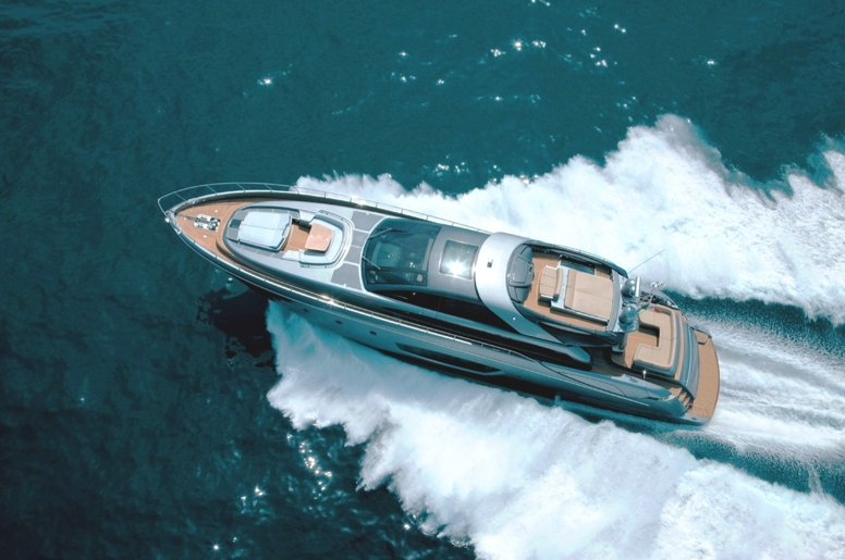 RHINO is a sleek and sexy motor yacht perfect for the glamour of the French Riviera