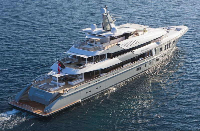 The World S Best Yacht At The 2014 Abu Dhabi Grand Prix