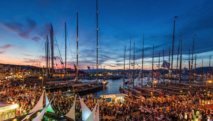 Classic Yachts at the St Tropez Regatta