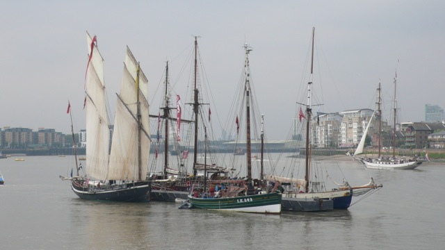 The Royal Greenwich Tall Ships Festival in London - Yacht