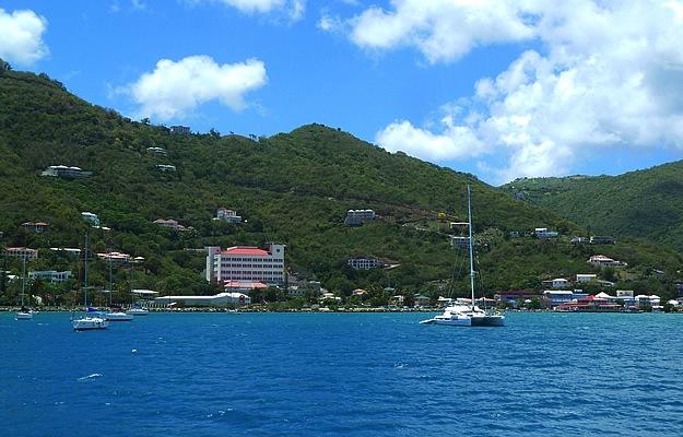 Approaching_Road_Town_Catamaran_Tortola_BVI