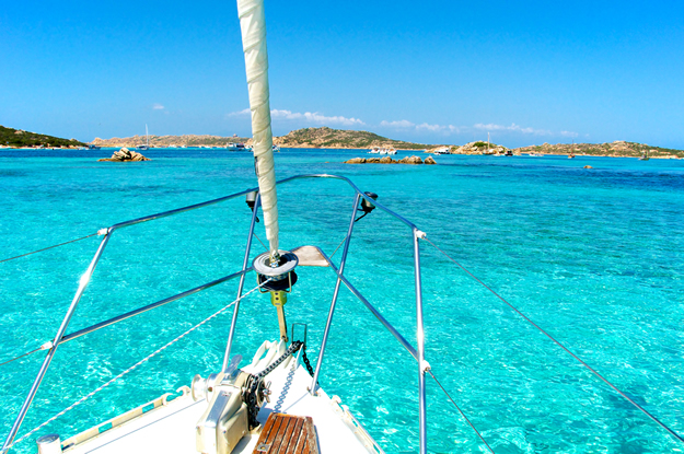 Set sail in Sardinia with crystal clear waters just inviting you to jump in!