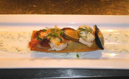 Seafood Grande Cru restaurant Yacht Haven Grande St Thomas
