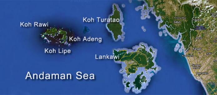map lipe-butang-tarutao