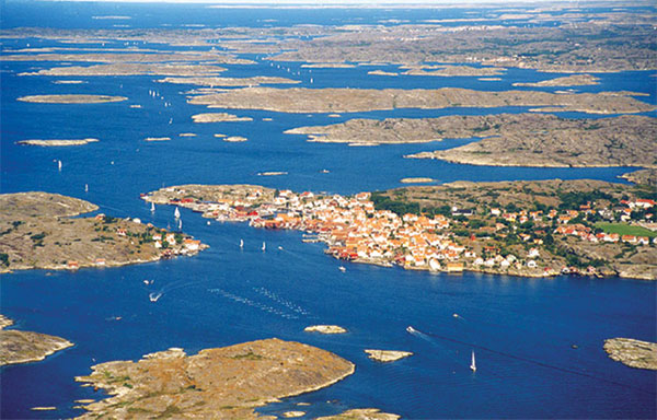 The Swedish islands around Stockholm