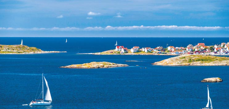 Sailing the Stockholm Archipelao