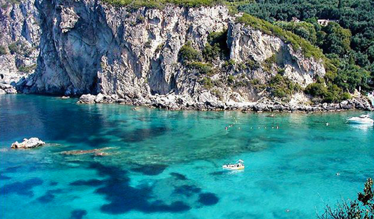 An islet in Corfu