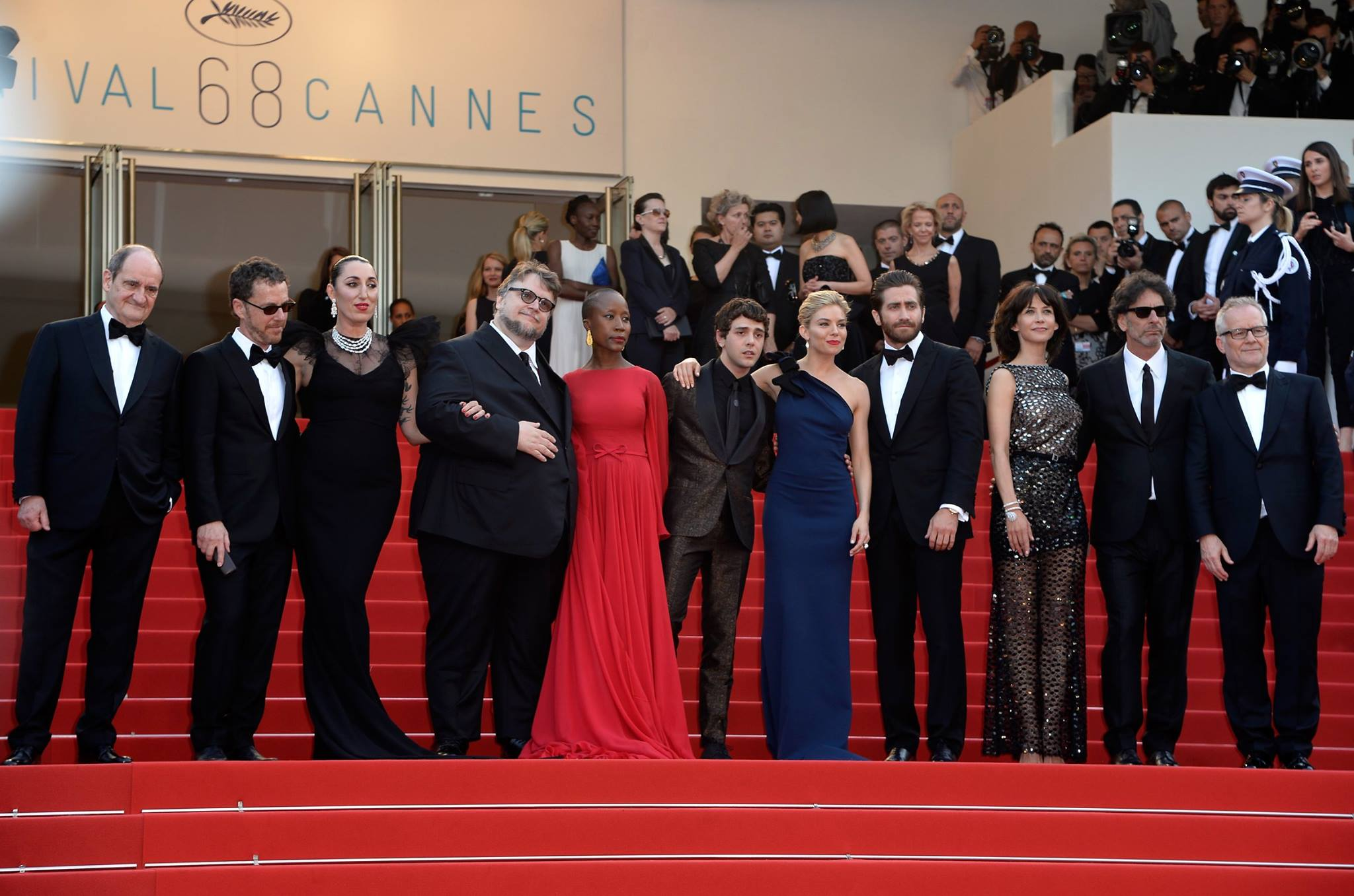 The jury for the 68th Cannes Film Festival 2015