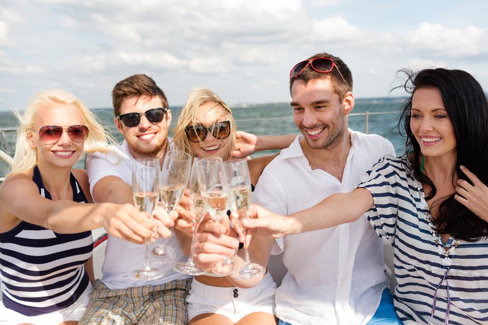 Enjoy your celebrations on a yacht!