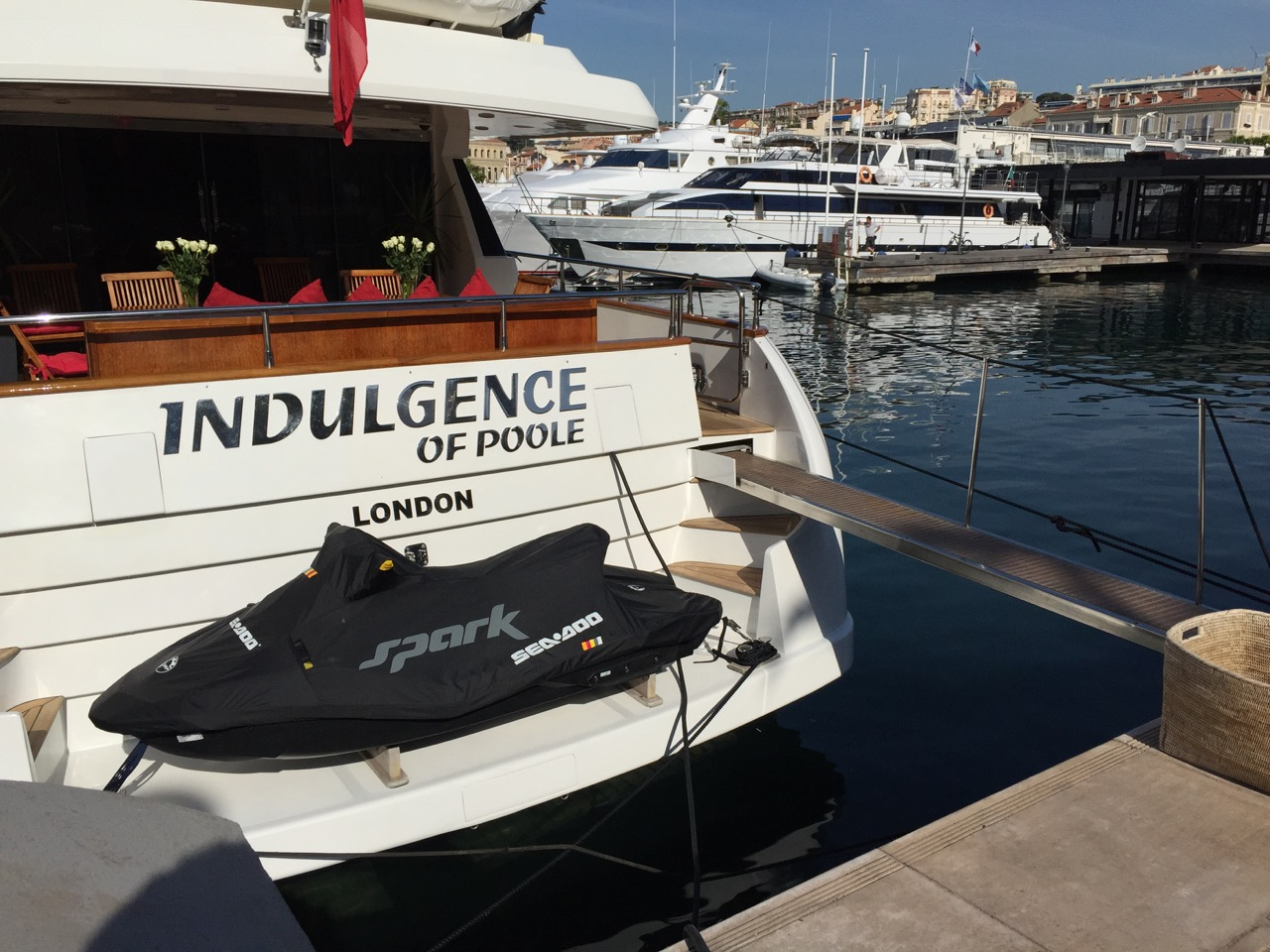 Indulgence of Poole at the Cannes Film Festival 2015