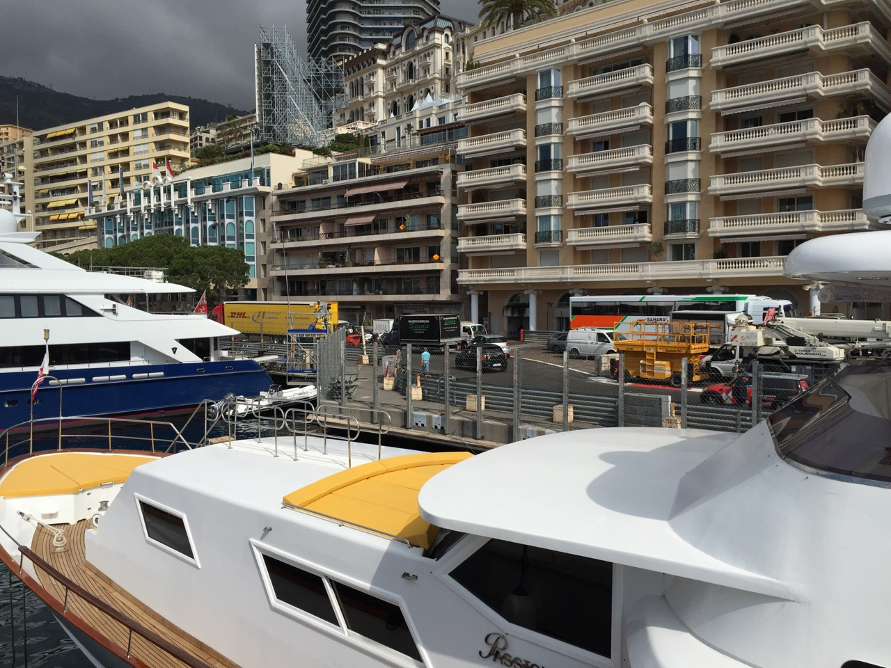 The Chicane in Monaco after the tunnel