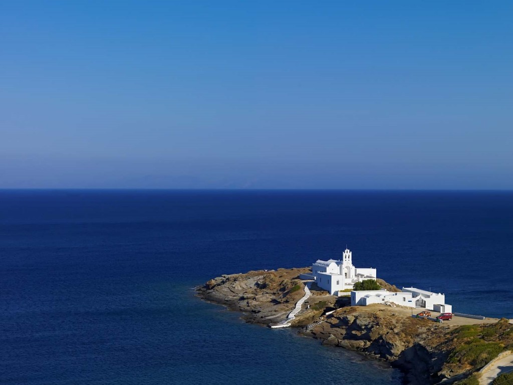 Sifnos Islands in the Cyclades, Greece