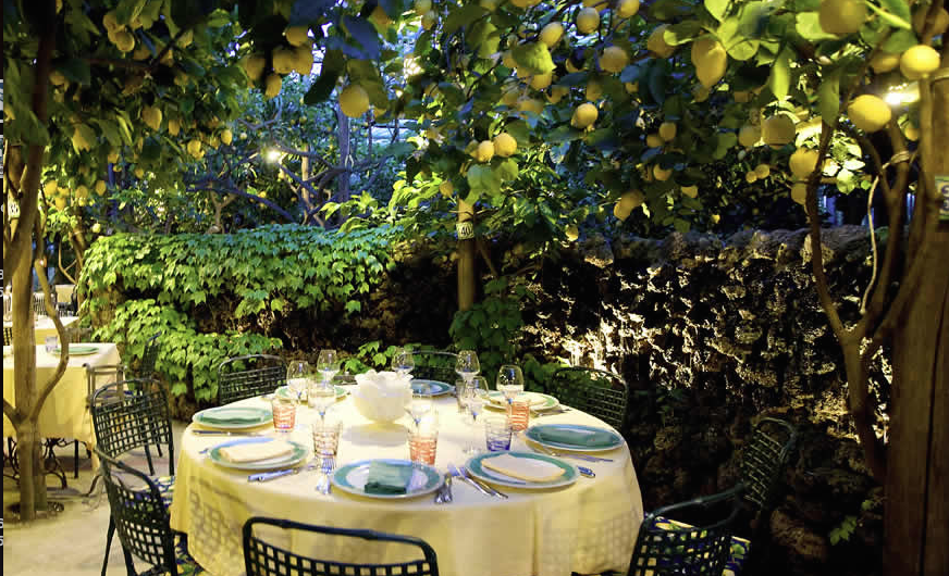 Image from La Paolini  'Lemon tree restaurant'
