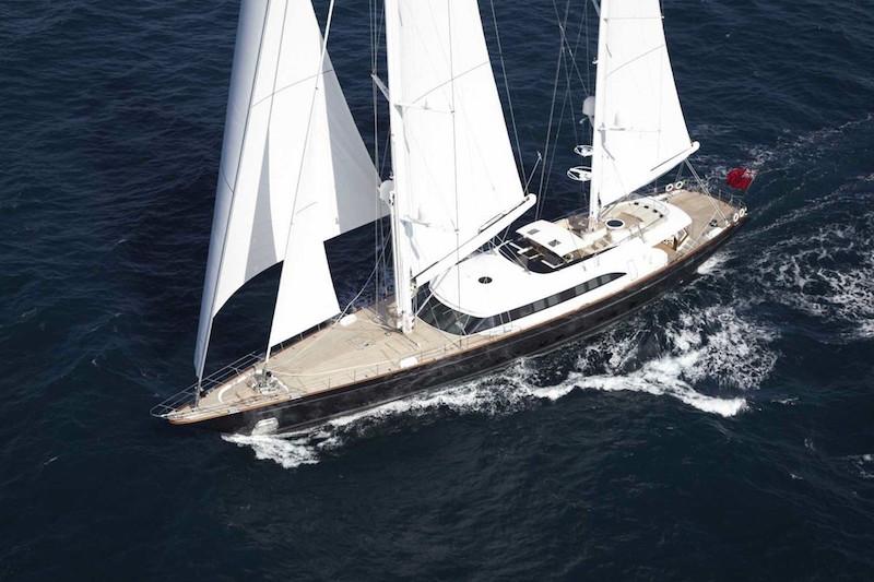 Perini Navi Sailing yacht Panthalassa - Main