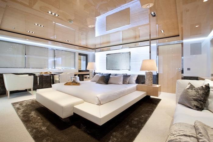 Motor yacht LA PELLEGRINA -  Master Cabin