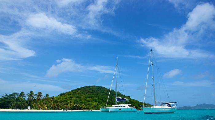 Cruise the Grenadines on a catamaran